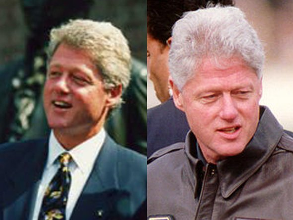 Bill Clinton, 1993 and 1999
