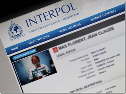 "The Interpol Website, via ""Liquid Mud"" Blog"